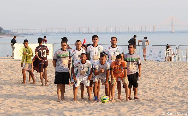 Estrela do Norte estreia com goleada na 2ª Copa Manaus de Beach Soccer