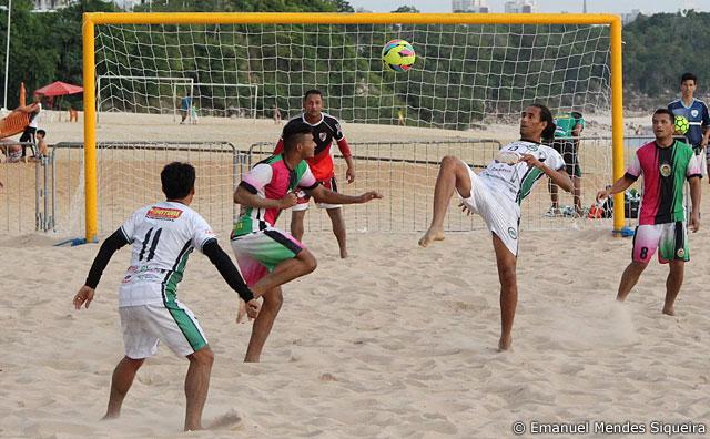 Estrela do Norte e Área Verde fazem a grande final de Beach Soccer.