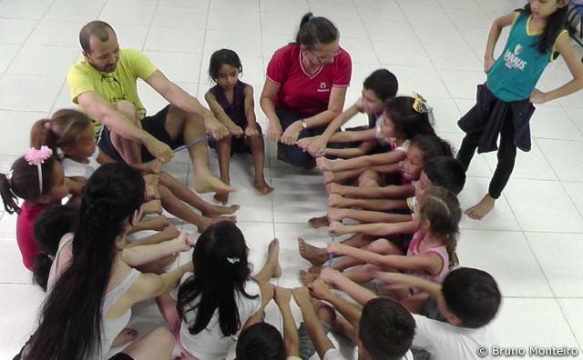 Crianças exibem processos criativos em Dança Contemporânea