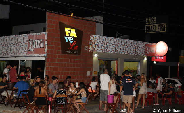 Sexta e sábado com muita animação no Favela Vieiralves