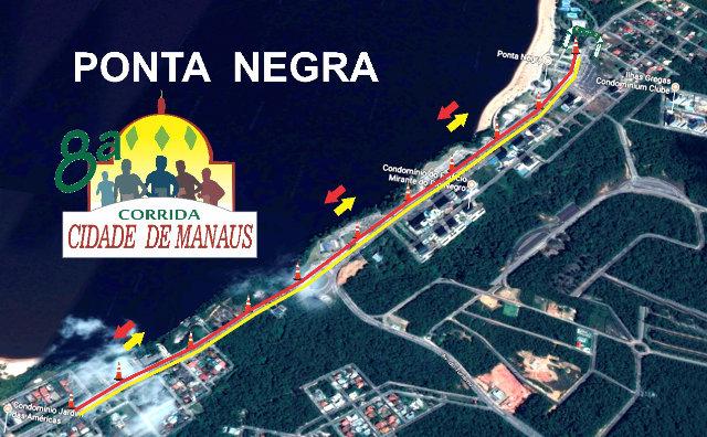 Inscrições para Corrida Cidade de Manaus iniciam nesta quarta-feira