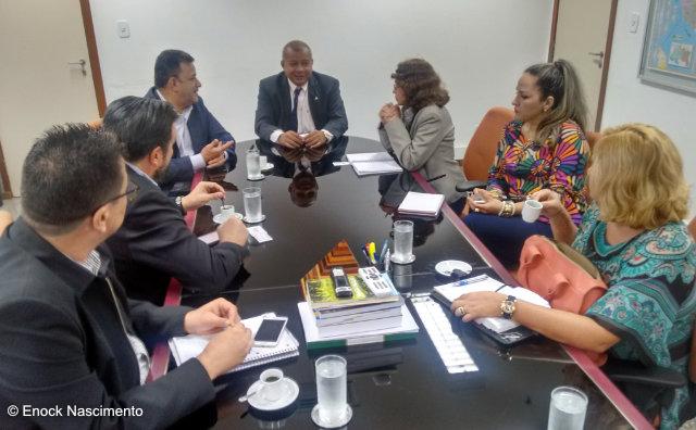 SUFRAMA e Amazonastur discutem ações de fomento de turismo