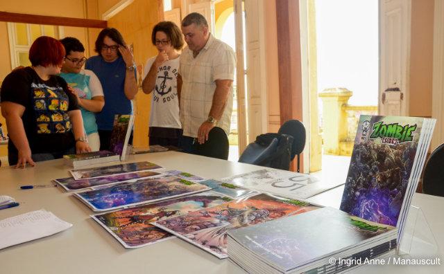 Exposição do Dia das Bruxas em cartaz no Paço da Liberdade