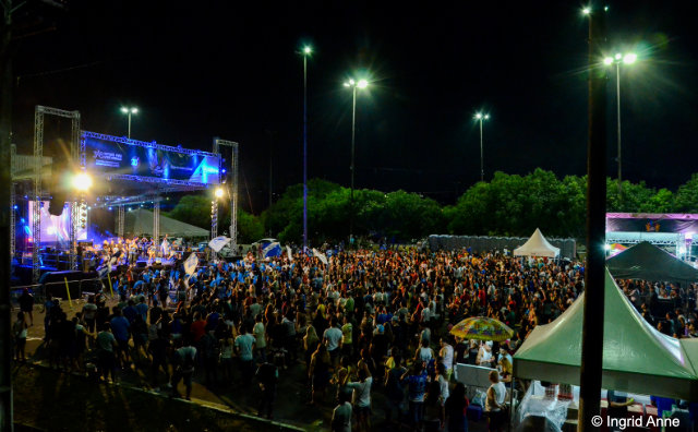 Shopping do Tururi esquenta público para Boi Manaus na Av do Samba