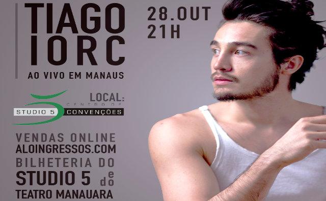 Tiago Iorc apresenta show em Manaus