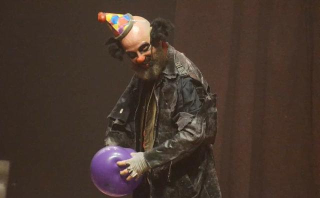 Espetáculo com palhaço sombrio será apresentado no Teatro da Instalação