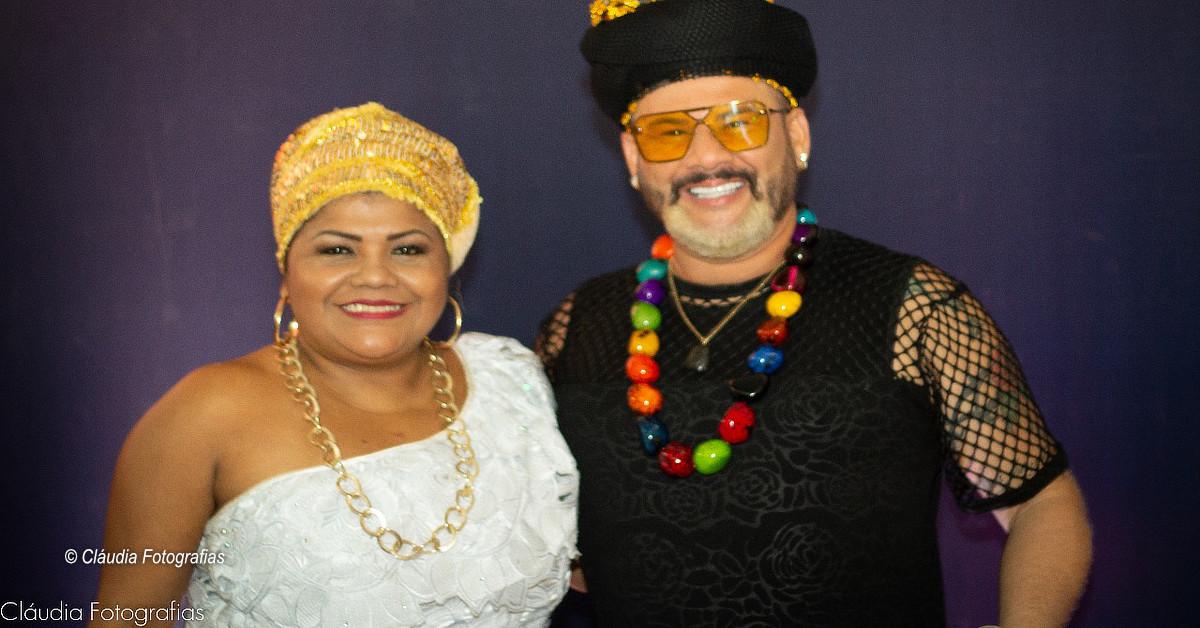Show Afro Brasilis com Márcia Siqueira & James Rios no Teatro Amazonas