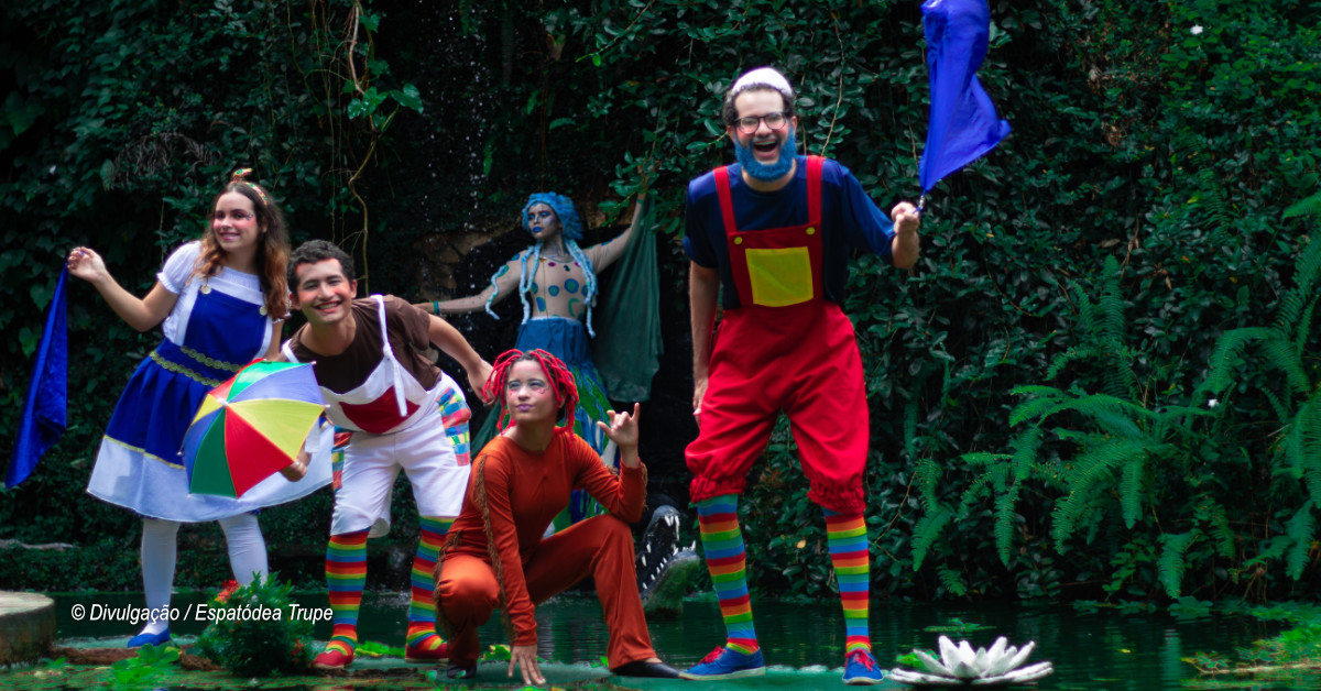 Trupe leva oficina e espetáculo de teatro para Itacoatiara