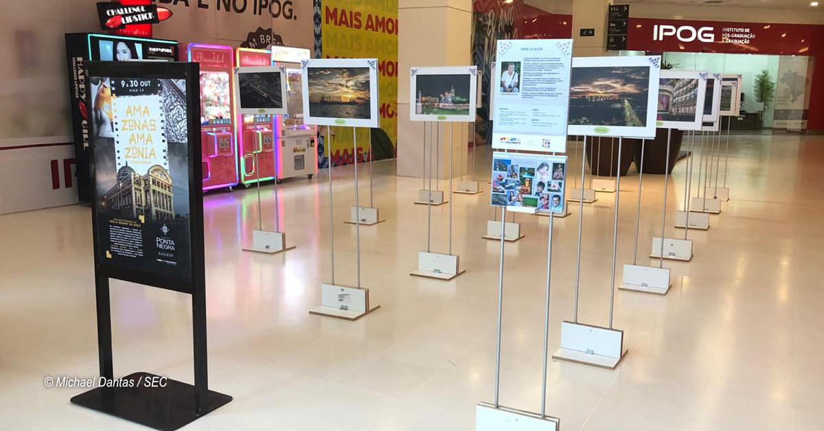 Exposição mostra Manaus pelas lentes do fotógrafo Décio de Assis, no Shopping Ponta Negra