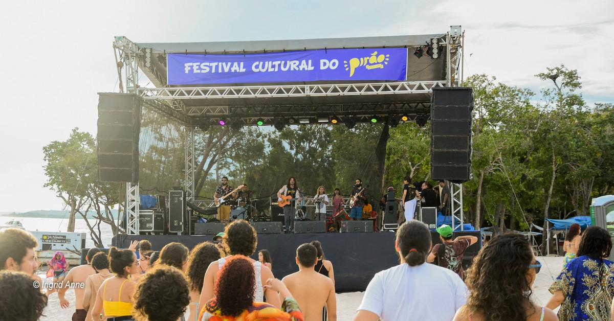 Festival Pirão acontece neste sábado na praia da Lua