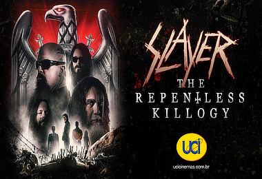Slayer na UCI Cinemas: Despedida em grande estilo