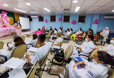 HPS 28 de Agosto realiza Semana de Fisioterapia em alusão ao dia do profissional