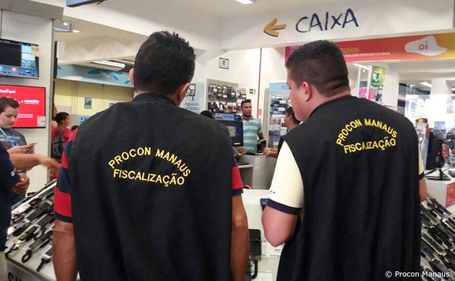 Procon Manaus multa loja por propaganda enganosa