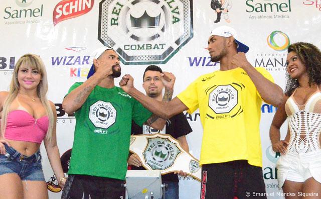 Pesagem do Rei da Selva 8 é nesta sexta-feira, 25, no Manaus Plaza