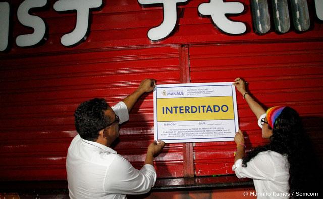 Implurb interdita três quiosques na Ponta Negra por inadimplência
