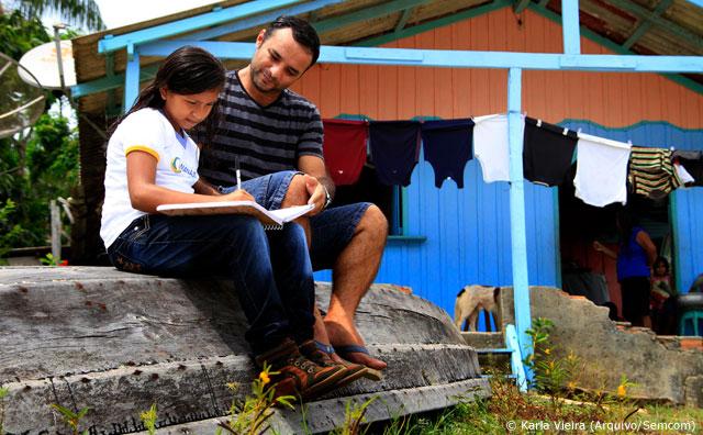 Aluna de escola ribeirinha de Manaus é finalista em Olimpíada