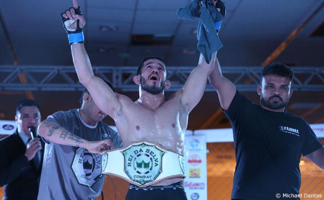 Wagner Noronha supera Marajó e conquista cinturão unificado dos penas