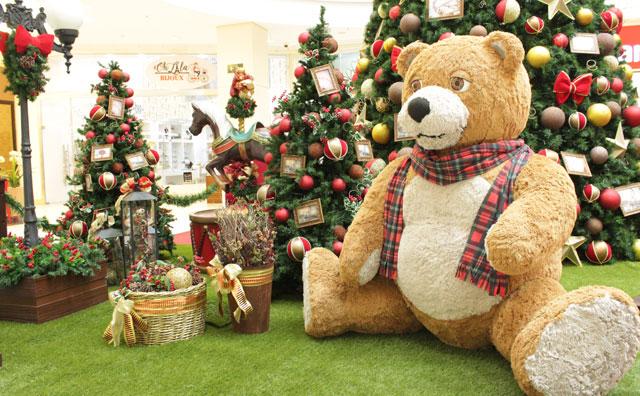 Programação natalina é a atração do Shopping Ponta Negra, domingo
