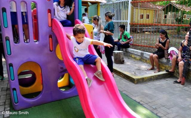 Parque da Criança é opção de lazer para o fim de semana