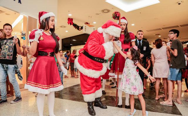 Inauguração da decoração de Natal do Amazonas Shopping