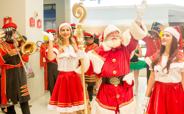 Papai Noel chega neste domingo, no Shopping Ponta Negra