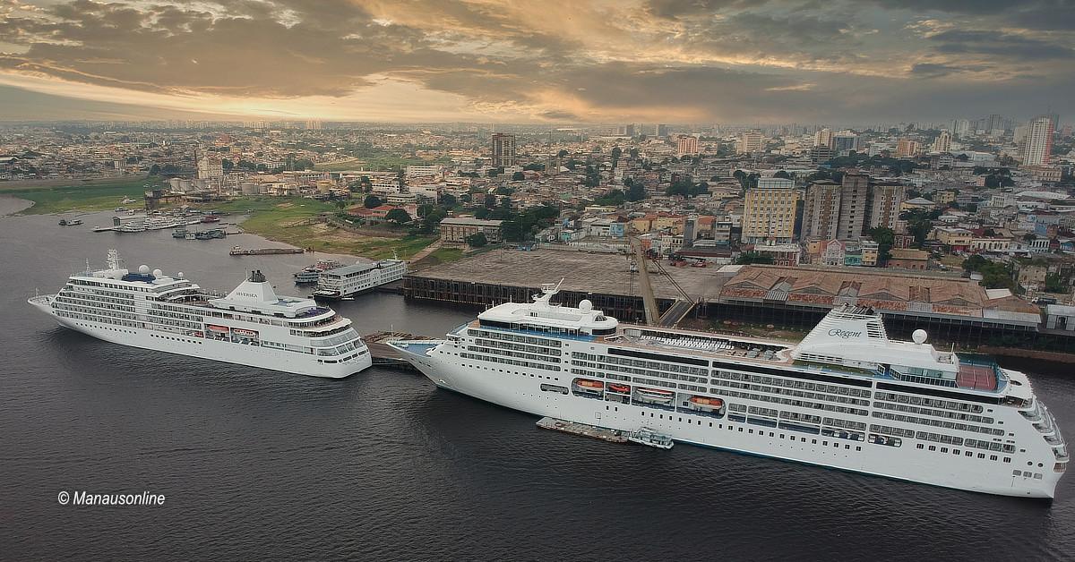 Manaus receberá mais de 4,5 mil turistas na Temporada de Cruzeiros em dezembro