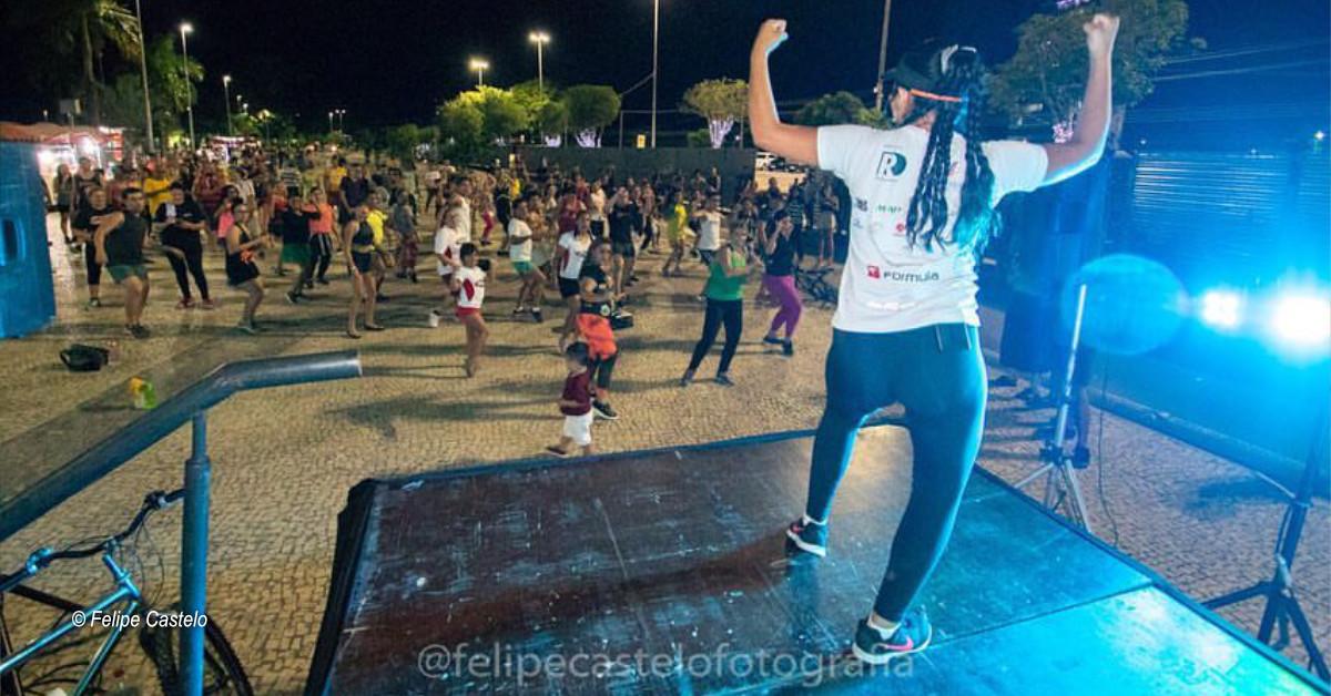 Faixa Liberada recebe aulão de dança já com hits do carnaval 2020