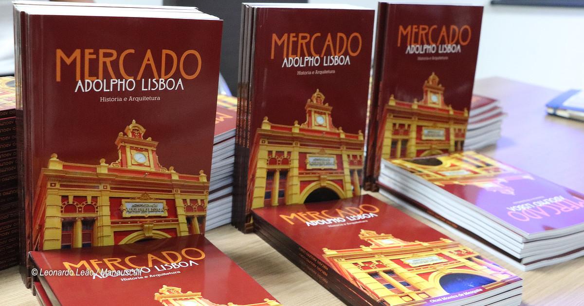 Livro sobre o mercado Adolpho Lisboa, de Otoni Mesquita, será lançado nesta quinta, 21/11