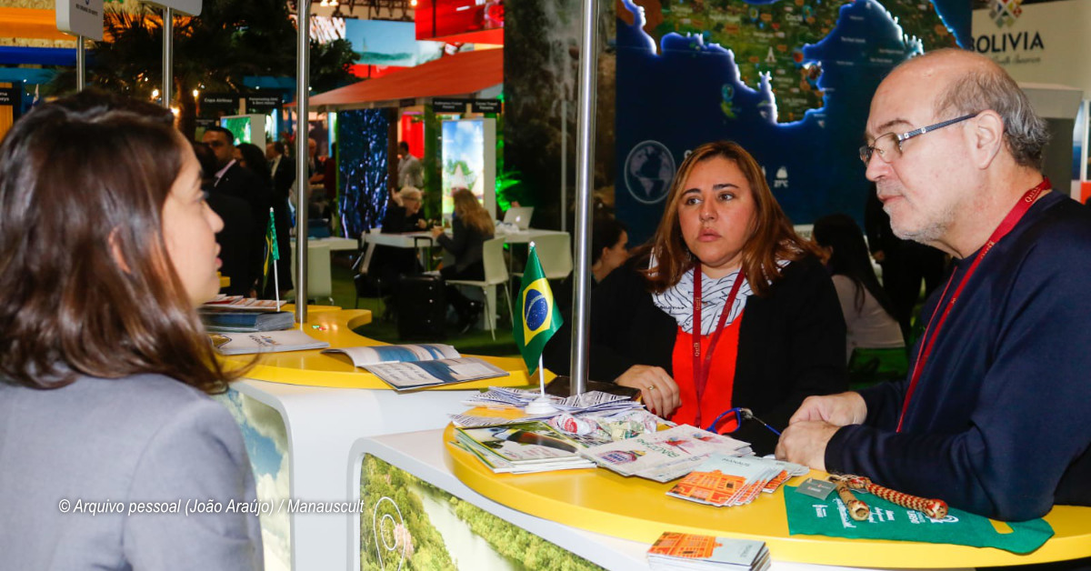 Destino turístico Manaus integra estande em Feira de Turismo em Londres