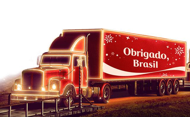 Caravana de Natal Coca-Cola passa por Manaus no próximo domingo
