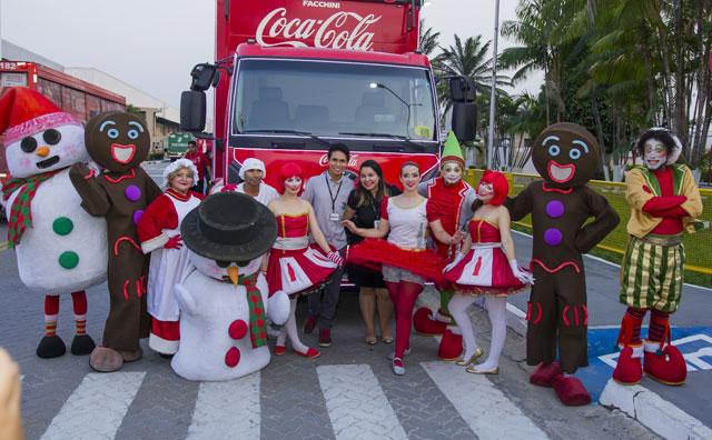 Arena da Amazônia recebe Caravana de Natal da Coca-Cola