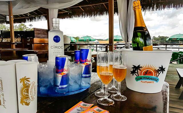 Reveillon Mágic vai receber 2017 no Flutuante Sun Paradise