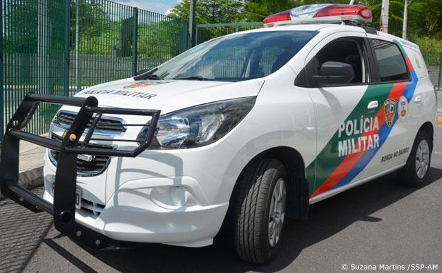 SSP-AM entrega viatura teste para Polícia Militar