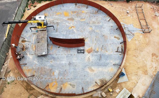 Águas de Manaus intensifica obras em novos reservatórios.