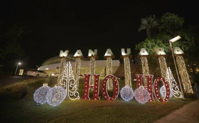 Programação de Natal no Manauara Shopping