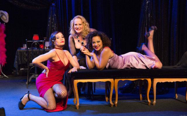 Lucinha Lins, Tania Alves e Virgínia Rosa No Teatro Manauara