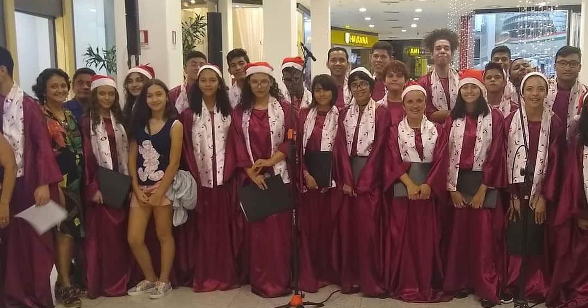 Programação de Natal do Amazonas Shopping terá apresentações de coral