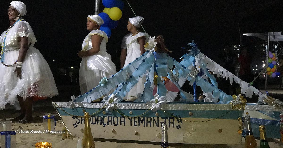 Festival Afro-Amazônico de Yemanjá começa neste sábado na Ponta Negra