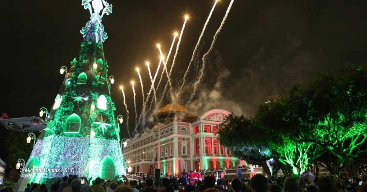 Feira de Natal movimenta a economia no Largo de São Sebastião