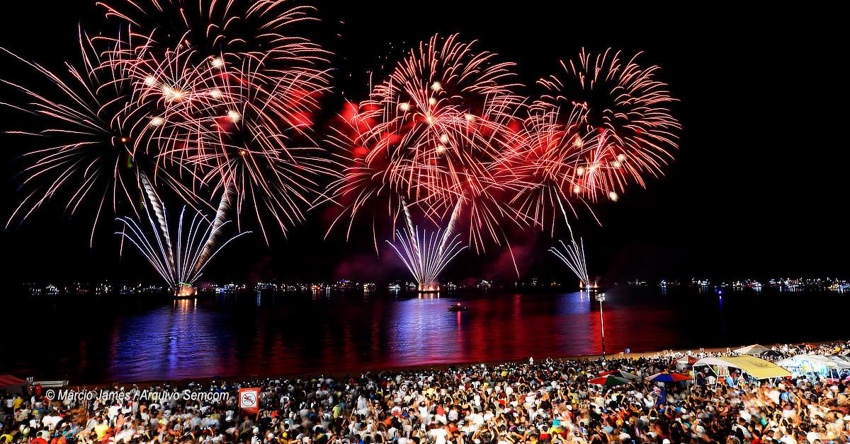Manaus recebe 2020 com 30 horas de festa e operação especial