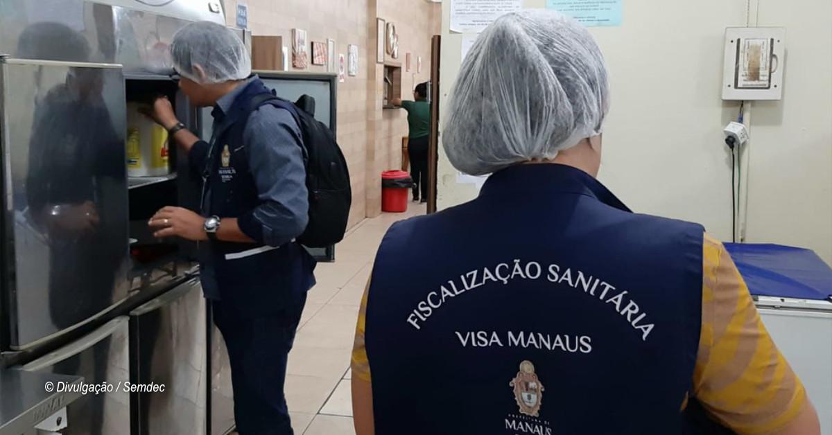 Quatro restaurantes são autuados em operação do Procon e Visa Manaus