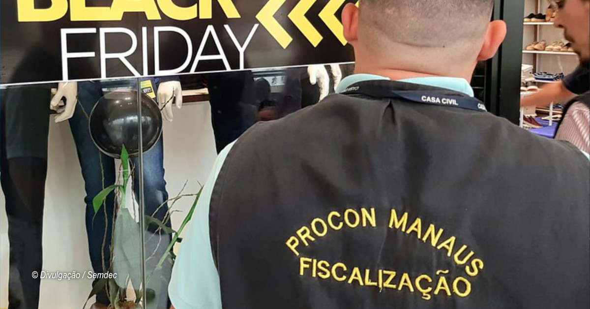 Procon Manaus autua oito estabelecimentos durante operação Black Friday