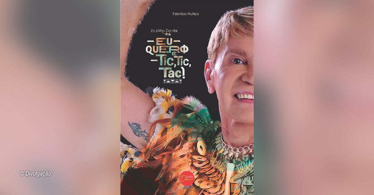 Livro sobre a carreira e vida de Zezinho Corrêa será lançado dia 28