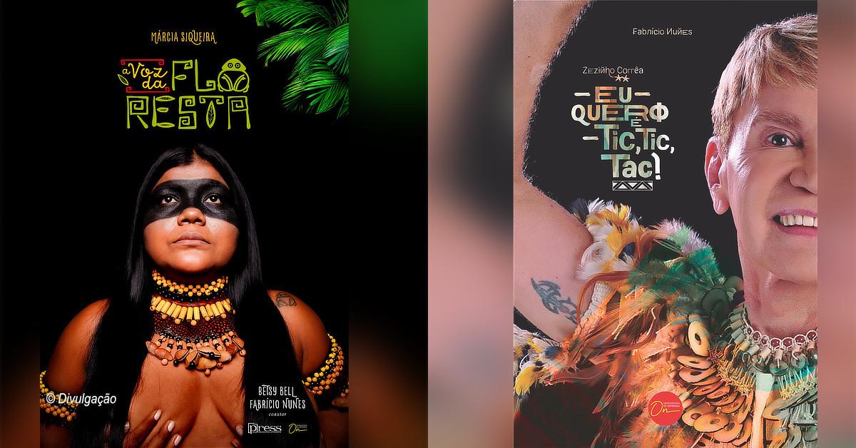 Lançamento das biografias de Márcia Siqueira e Zezinho Corrêa será em formato Live