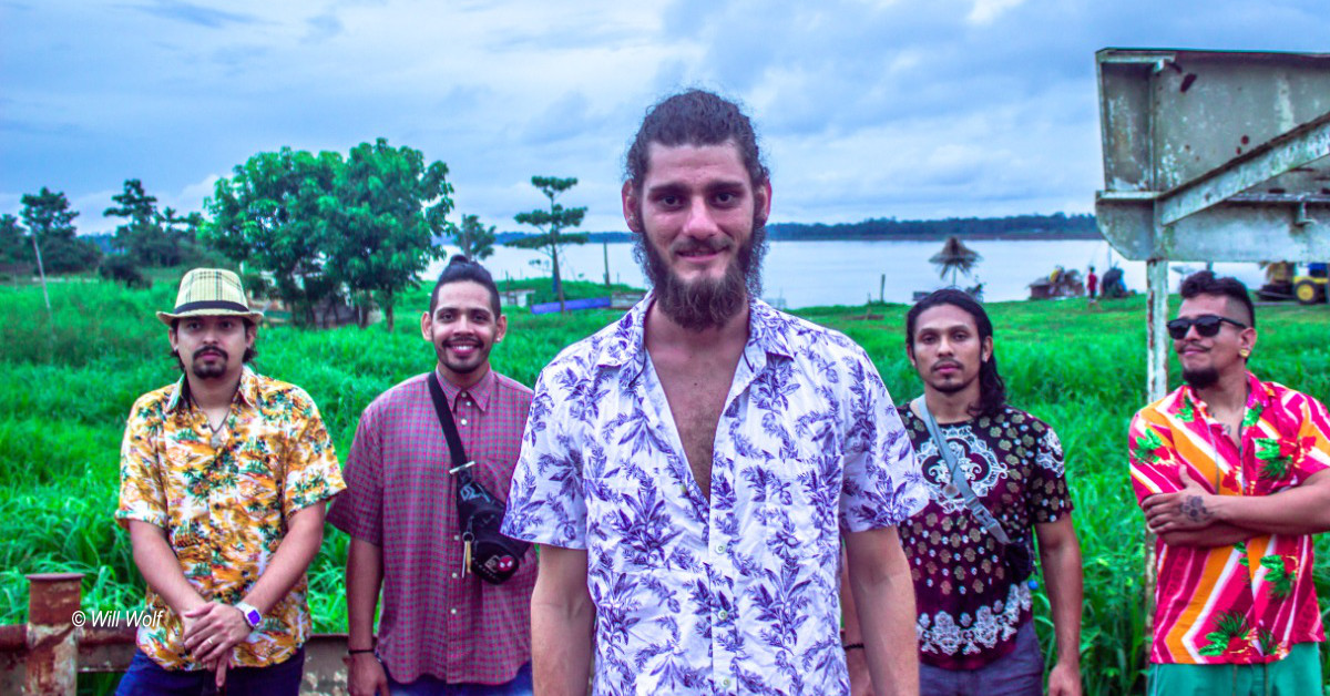 Banda Los Matrinxãs realiza live na Vila Vagalume nesta quarta, 9/12
