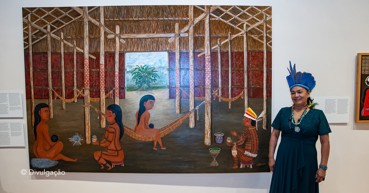 Duhigó é a primeira mulher indígena do Amazonas no acervo do MASP