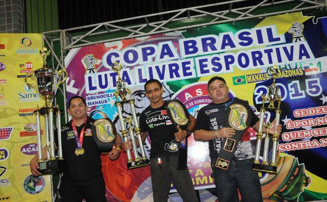 CT Bunocilla conquista Copa Brasil de Luta Livre Esportiva