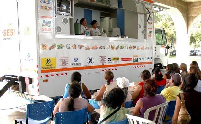 Parque Lagoa do Japiim recebe Programa Cozinha Brasil do Sesi