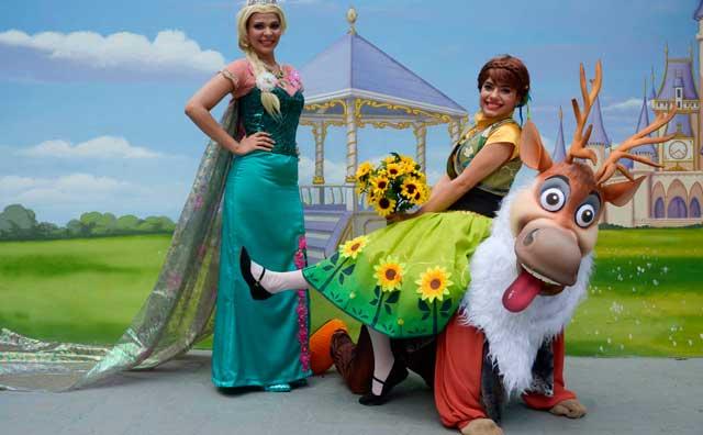 Personagens de Frozen vão fazer a festa no Parque Cidade da Criança