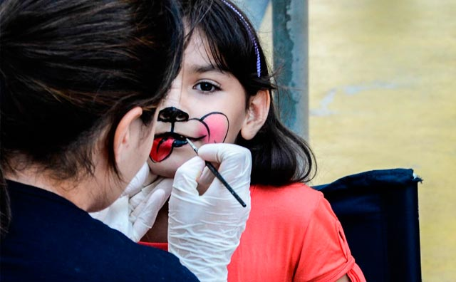 Cineminha e conto japonês agitam o Parque Cidade da Criança